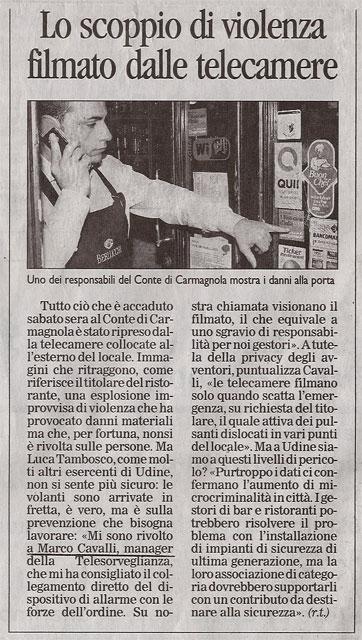 Messaggero Veneto – 25/11/2008