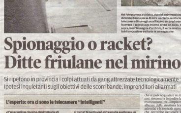 Messaggero Veneto – 12/1/2012