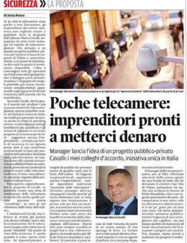 Messaggero Veneto – 24/10/2013